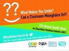 USI Mental Health Awareness Week – What Makes You Smile?