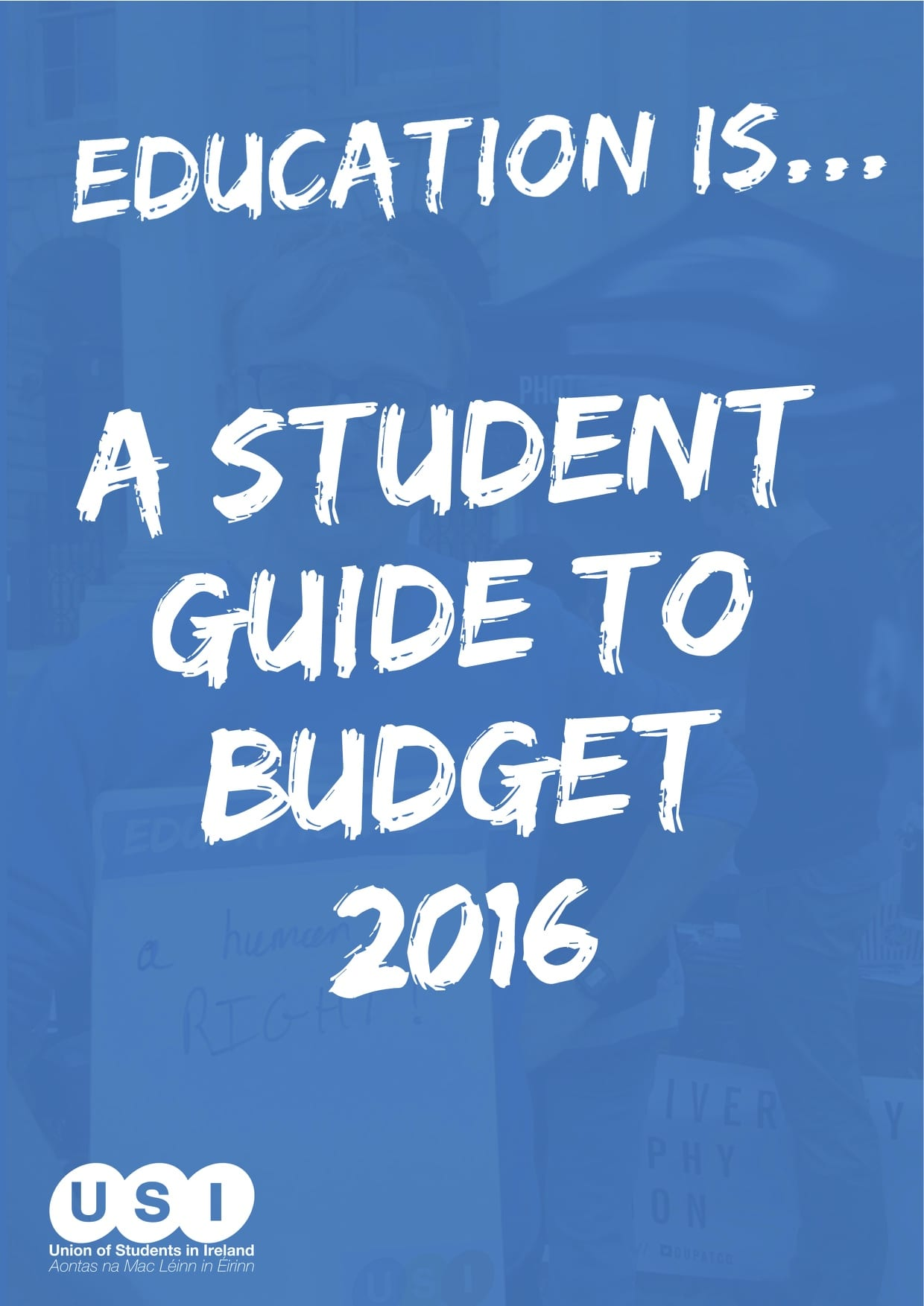The USI Student Guide to Budget 2016