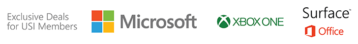 Microsoft Exclusive Deals for USI Members
