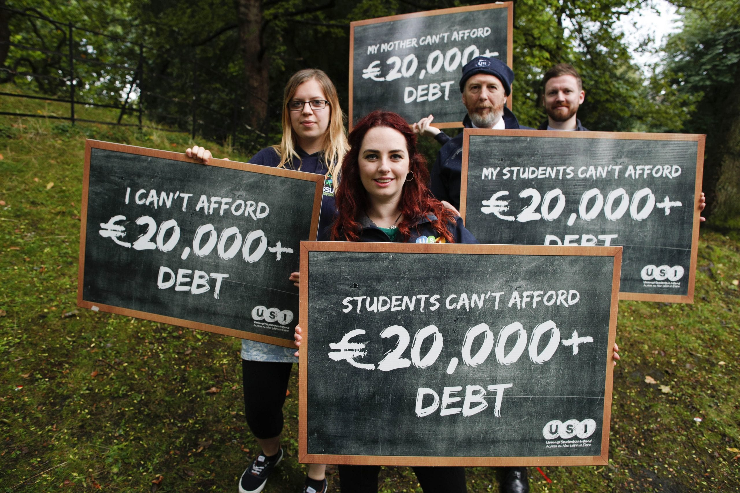 USI announce their national demo expected to draw 5,000 students