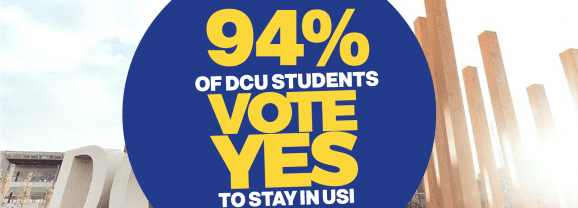 94% of DCUSU Voters Say Yes To USI