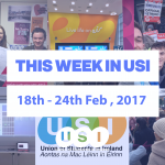 The Week in USI Feb 18th – 24th, 2017