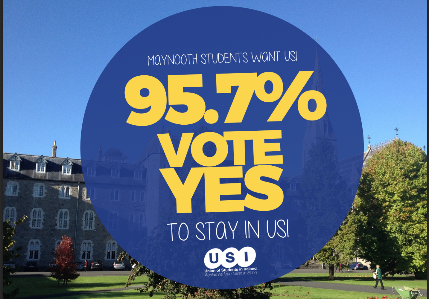 95.7% of MSU Voters Say Yes to USI