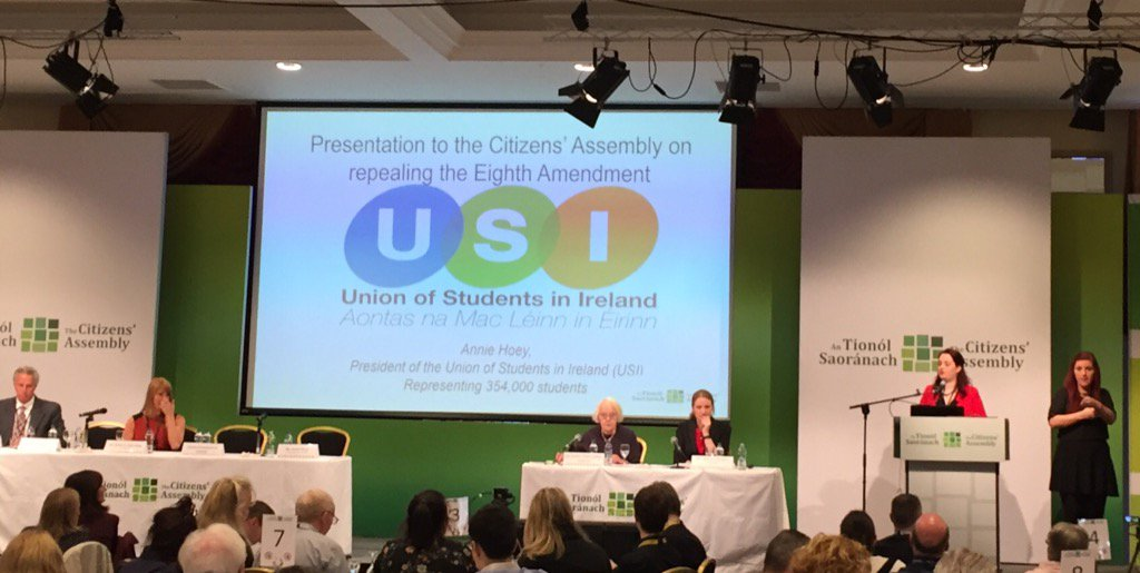 USI Prepares To Mobilise Students To Campaign On Replacement of Eighth Amendment