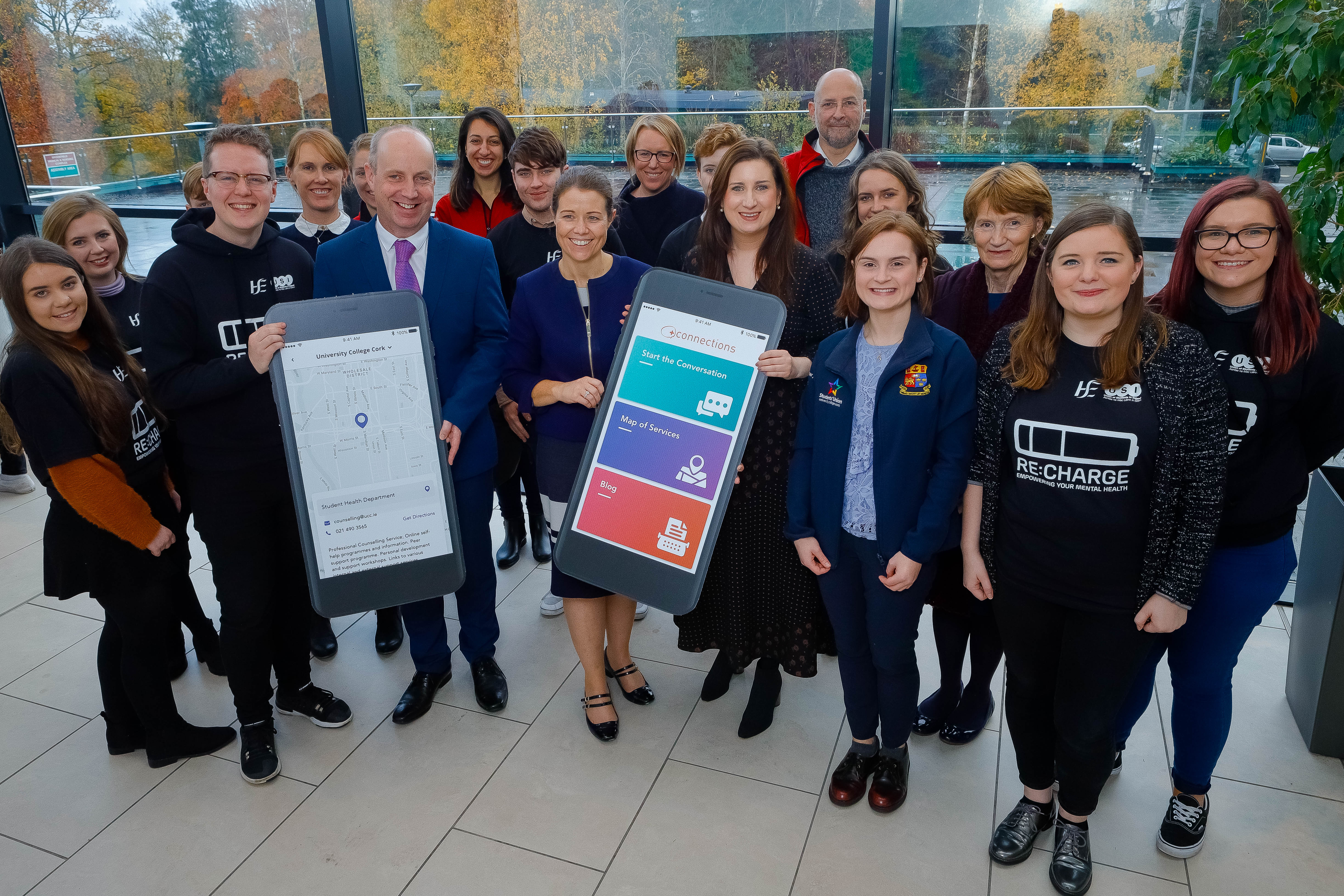 USI officially launch ReCharge Campaign