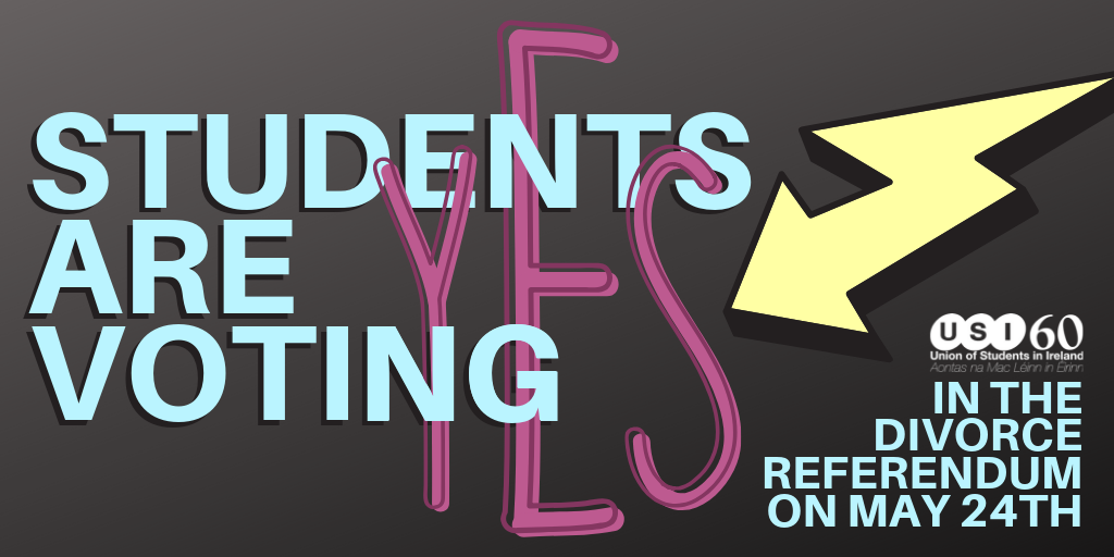 Students Voting YES in Divorce Referendum, May 24th