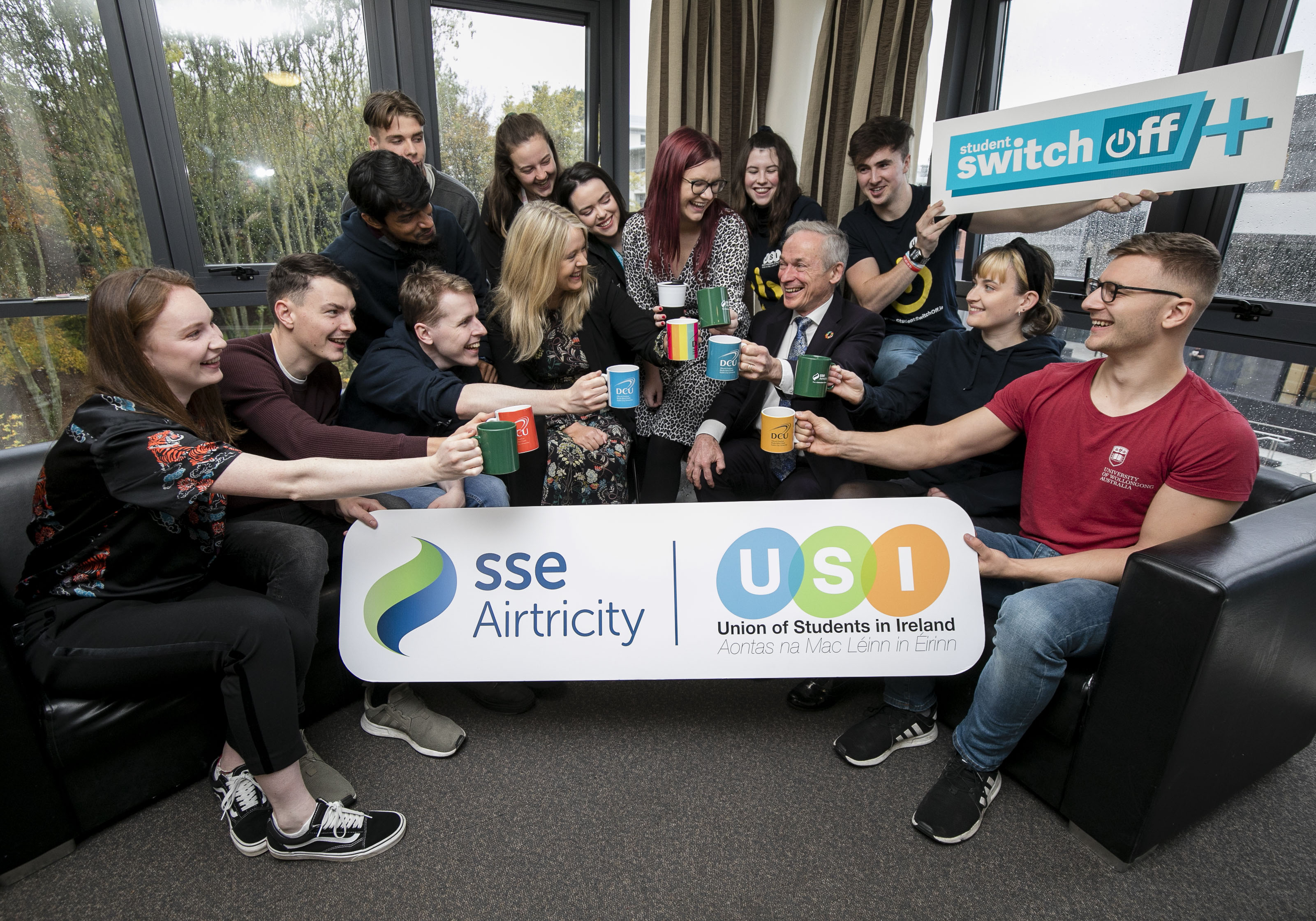 Minister Bruton Launches USI 21 Day Challenge with a Smart Brew