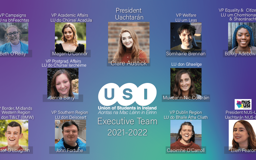 Galway woman elected new President of the Union of Students in Ireland at Congress